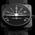 BaselWorld 2012: Bell & Ross Company Introduces New Watch from Aviation Collection. BR01 Turn Coordinator Watch