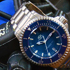 American Watchmaker RGM Presents New Series 2 Blue Diver Watch