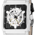 Emphasize your respectability with a new Mechanical Square Skeleton Dial by Bulova