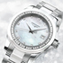 New Ladies Diamond Conquest by Longines: perfect beauty, accented by diamonds' shine