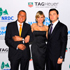 TAG Heuer Ambassadors Cameron Diaz and Leonardo DiCaprio at a charity evening