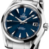 Omega Presents New Seamaster Aqua Terra 150M Blue Dial Watch