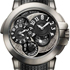 Ocean Dual Time Monochrome Watch by Harry Winston
