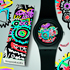 New Blue Wild Face and Wild Face Watches by Swatch