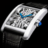 Skeletonized Tank MC Skeleton Timepiece by Cartier