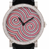New Ladies Watch Amazone Psychedelic Circles by Delaneau