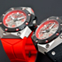 Oktopus II Double Date Titanium Red by Linde Werdelin