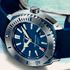 New Aquascope Blue Diver Timepiece by JeanRichard