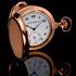 New Tourbillon with Three Gold Bridges Pocket Timepiece by Girard-Perreguax