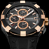C1 Black and Gold Timepiece by Concord