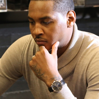 Carmelo Anthony – Ambassador of IWC Schaffhausen