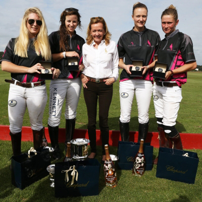 Chopard - the partner of the second women`s polo championship