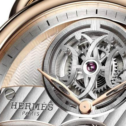 New Arceau Lift Tourbillon Timepiece by HERMÈS