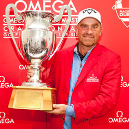 Thomas Björn - the King of the Omega European Masters Tournament