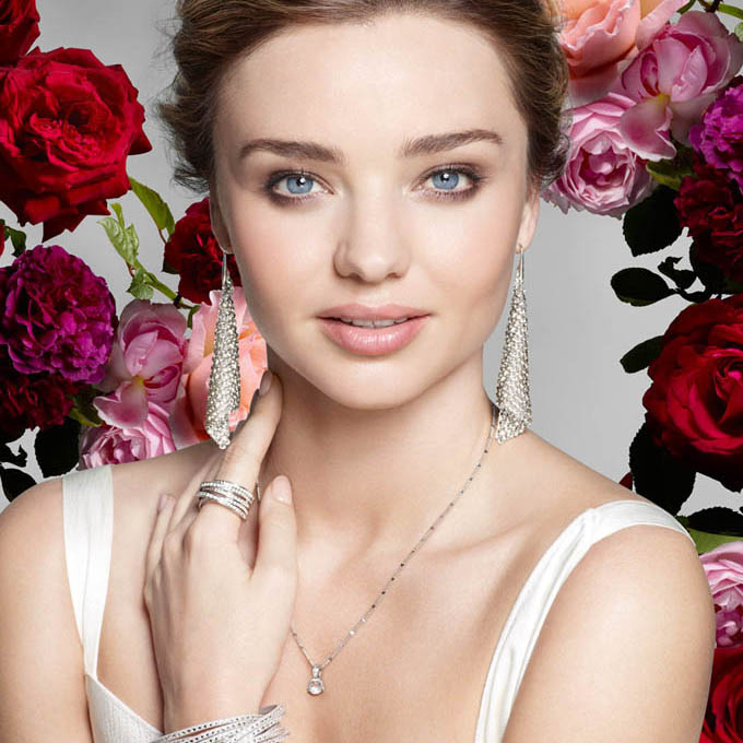 Miranda Kerr - the face of a new Swarovski advertising campaign