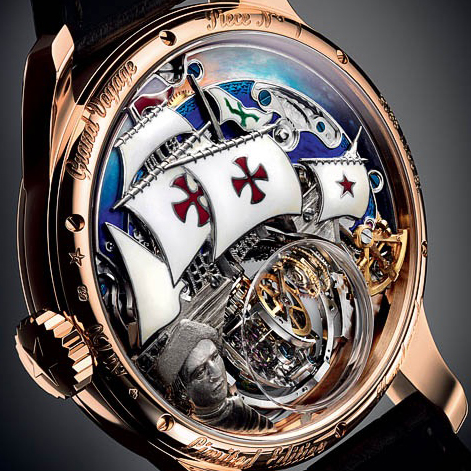 New Christophe Colombe Hurricane Grand Voyage Timepiece by Zenith, dedicated to Christopher Columbus