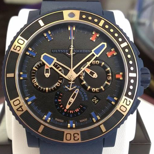 Schooner Chronograph Ulysse Nardin Timepiece in honor of