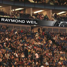 Raymond Weil - an official partner of SSE Hydro