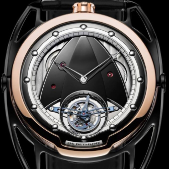 DB28T Black Gold Timepiece brought the prize for De Bethune