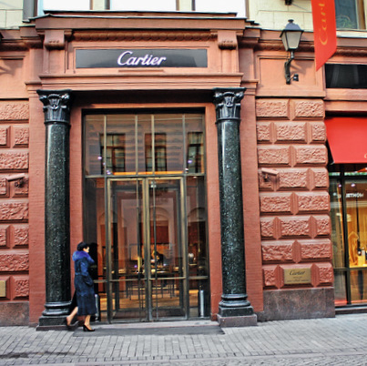 New Cartier Boutique in Moscow
