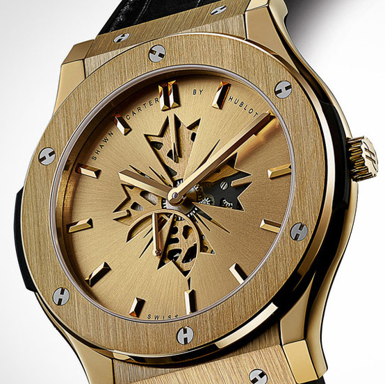 Shawn Carter Hublot Classic Fusion Timepiece by Hublot and Jay Z