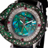 New Magnificent Green Snake Timepiece by Zannetti