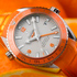 World Premiere OMEGA Seamaster Planet Ocean Orange Ceramic