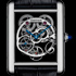 SIHH-2014: Tank Louis Cartier Skeleton Sapphire by Cartier