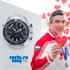 Omega Welcomed Two-fold Olympic Silver Medalist Albert Demchenko
