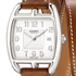 Cape Cod Tonneau GM Silver watch by Hermès