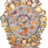 All colors of the rainbow in the new watch Piccadilly Princess 'Royal Colours' by Backes & Strauss