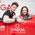 Celebrities Star of Omega pavilion at the Winter Olympics 2014 in Sochi