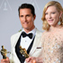Chopard brings luck Cate Blanchett and Matthew McConaughey at the Oscars - 2014