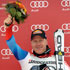 Didier Cuche wins downhill in the German Garmisch-Partenkirchen
