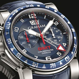 Chronofighter Oversize GMT Blue by Graham