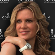 Rebecca de Alba – a new ambassador of Corum