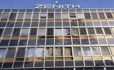 new Zenith manufacture