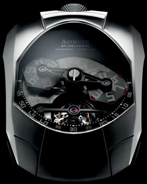 Azimuth Twin Barrel Tourbillon