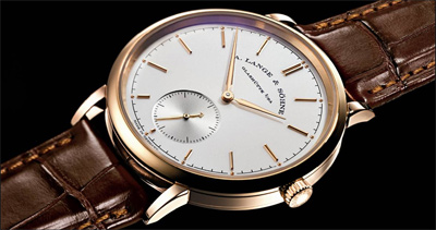 The Saxonia Automatic launched this year is now available at Harrods