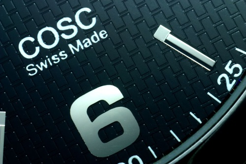 Swiss made and COSC