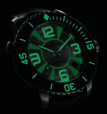 A New 500 Fathoms by Blancpain