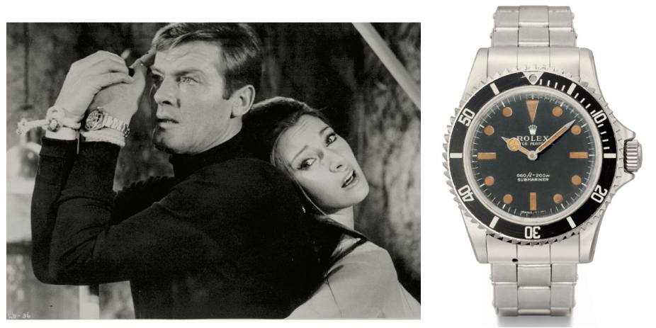 Christie `s sell watch Agent 007 by Rolex