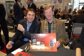 Jurgen Gertsberger and Walter Röhrl