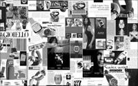 clippings from newspapers and magazines
