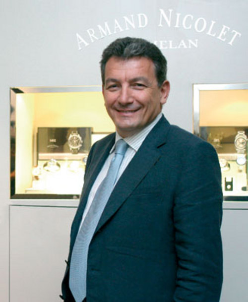 CEO of the watch company Armand Nicolet - Rolando Braga