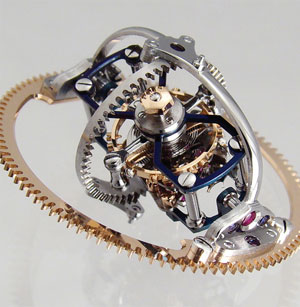 Bexei watch tourbillon