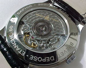 Carlo Ferrara watch backside