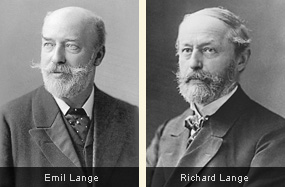 Emil and Richard Lange