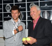 Jurgen Melzer and Jacques Lemans