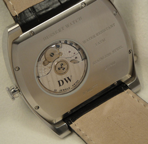 Dussert Watch backside
